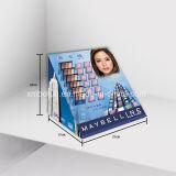 Soporte de visualización caliente del contador de la cartulina de la venta para el cosmético