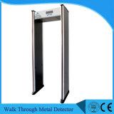 Caminhada da porta de segurança Ub600 do Archway através do detetor de metais com sensibilidade elevada