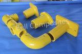 Guarniciones de FRP/GRP, conectores del tubo de la fibra de vidrio, guarniciones del pasamano de la mano de FRP