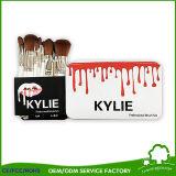 El nuevo maquillaje profesional de empaquetado retro de Kylie aplica el conjunto con brocha 5PCS