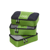記憶の袋によってセットされる(3 PCS)パッキングの荷物のオルガナイザーの袋