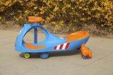 طفلة أرجوحة سيّارة مع عمليّة بيع حارّ
