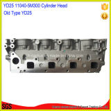 Amc 908 505 11040-5m000 11040-5m301 11040-5m302 Yd25 Cylinder Head für Nissans