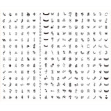 Инструмент Manicure шаблона DIY штемпеля искусствоа XXL ногтя (SNA05)