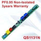 18-36W Hpf 비고립 3years 보장 전력 공급 QS1131n