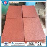 Le mattonelle di gomma dell'interno di gomma delle mattonelle di pavimento della stuoia Anti-Fatigue riciclano le mattonelle di gomma