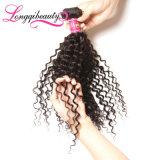 Cheveu 100% brésilien humain de Vierge non transformée de vente en gros de qualité