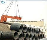 Alambre de acero Rod de SAE1008 8m m para la construcción en China Tangshan
