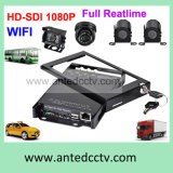 4つのチャネルのいろいろな種類の手段CCTVのために追跡するGPSの自動監視カメラシステム