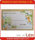 cartões plásticos da identificação do acesso de 125kHz ISO11785 RFID