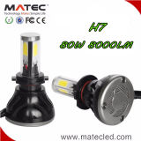 Bulbo auto de calidad superior H7 H11 H4 H13 880/881 de la linterna del poder más elevado LED del coche 9004 9007