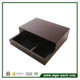 Коробка хранения стильного офиса деревянная