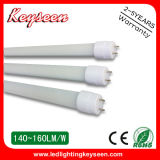 110lm/W T8 Tube 0.6m 10W LED Lighting, 5years Warranty