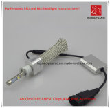 La prova H3 LED CREE Xhp50 faro dell'automobile 4800lm 6000k 40W Acqua