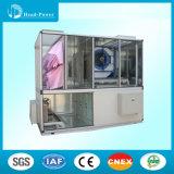 De woon Centrale Systemen die van de Condensator HVAC van de Airconditioning Lucht Gekoelde Airconditioner schoonmaken