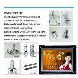 La maggior parte della casella chiara di cristallo popolare del LED