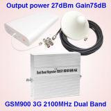 2g/3G/4G販売のためのデュアルバンドの携帯電話のシグナルの増強物のシグナルの中継器3G