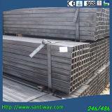 Tubulação quadrada de aço galvanizada