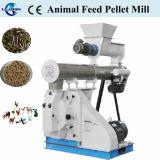 Las aves de corral carga de pellets Máquina alimentar el ganado peletizador