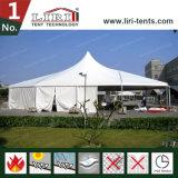 [هي بك] خيمة فسطاط بنية مع قمة خاصّة لأنّ حادث