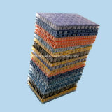 Panneau antidérapage de nid d'abeilles de FRP pour la plate-forme d'échafaudage
