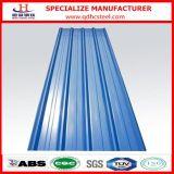 カラーによって波形を付けられるGIによって電流を通される屋根の鋼板