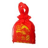 Nicht gesponnene Geschenk-Verpackung Beutel, mit fertigen kundenspezifisch an und sortieren