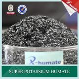 Fiocchi lucidi di Humate 95%Min del potassio di serie di X-Humate H95