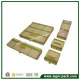 Rectángulo de joyería de madera de la producción al por mayor de la fábrica