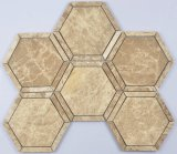 Hexagon Marmeren Mozaïek voor Badkamers
