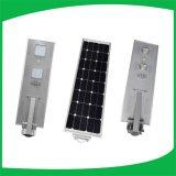 luz de calle ligera solar integrada 50W