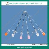 Sterile spinale Wegwerfnadel mit CER u. ISO
