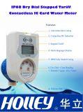 Medidor de agua escalonado prepagado sin contacto de la tarjeta inteligente IP68 (LXSIC-15CB-25CB)
