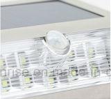 太陽動力を与えられたLED夜は白いカラーネットライト販売のための太陽外の壁ライトをつける