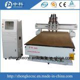 Дверь высокой точности деревянная делая вырезывание маршрутизатора CNC