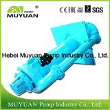 Bomba centrífuga de la mezcla del desbordamiento de capacidad inferior vertical resistente del espesante