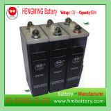Navulbare Batterij van Kpm van de Batterij van het Type van Zak Kpm75 van Hengming 1.2V75ah de Nikkel-cadmium van de Reeks (Batterij Ni-CD)