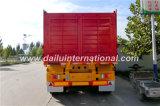 3 eixos corrugaram o auto traseiro que despeja Semi o reboque (reboque do tipper) para o transporte de carga pesado