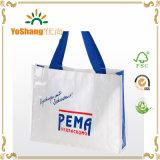 O saco tecido PP de China, saco do empacotamento plástico, mão carreg o saco