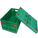 Casse di plastica pieghevoli della verdura e della frutta