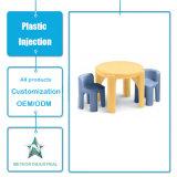 Подгонянная таблица мебели комнаты пластичных продуктов живя и прессформа впрыски стула установленная