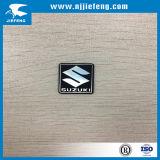 Emblème en aluminium de signe de logo de collant d'insigne