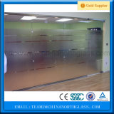 Jumbo Size 12mm Clear Tempered Glass Partition