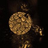 Hängendes Solarlicht der Kristallkugel-LED für Patiodecking-Dekor