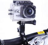 """L'azione mette in mostra la videocamera portatile impermeabile grandangolare dell'automobile della bici del casco dello schermo 120 pieni del video 2 della macchina fotografica A8 1080P HD """""""