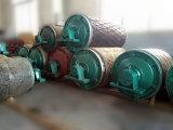 Banda transportadora de acero de rodillo del tambor de la polea impulsora del transportador de correa de Dtii