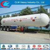 Высокое качество 60cbm Liquified Propane Gas LPG Tanker Semi Trailer