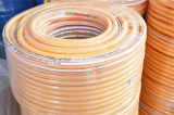 Cinq couches de PVC de tuyau de pression