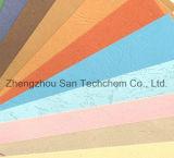 Grande papel gravado da qualidade grão de couro colorida