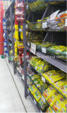 Supermarket Shelf with Mesh Cages